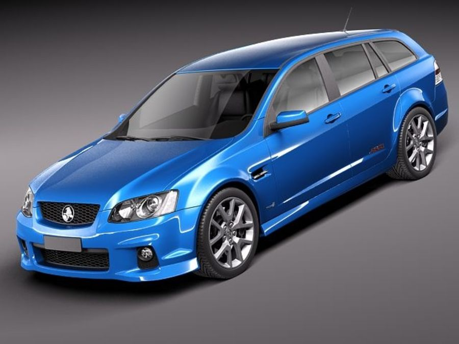 Holden Ve Ii Commodore Sportwagon Ssv 2011 3d Model 129 Obj X