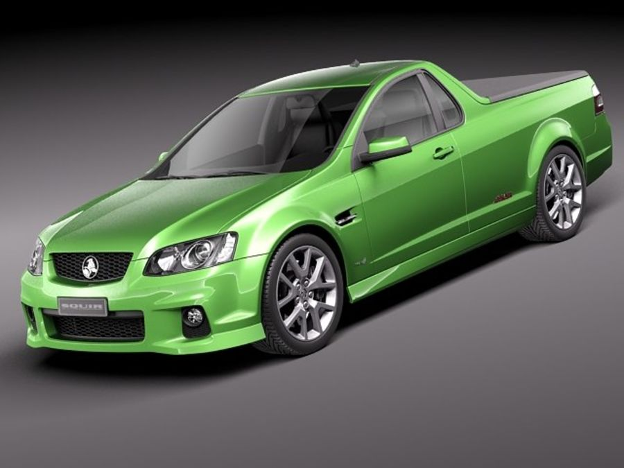 Holden Ve Ii Commodore Ute Ssv 2011 3d Model 129 Obj X Lwo