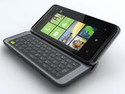 HTC 7 PRO 3d model