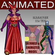 summoner 3d model