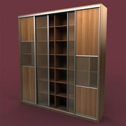 书柜01 3d model