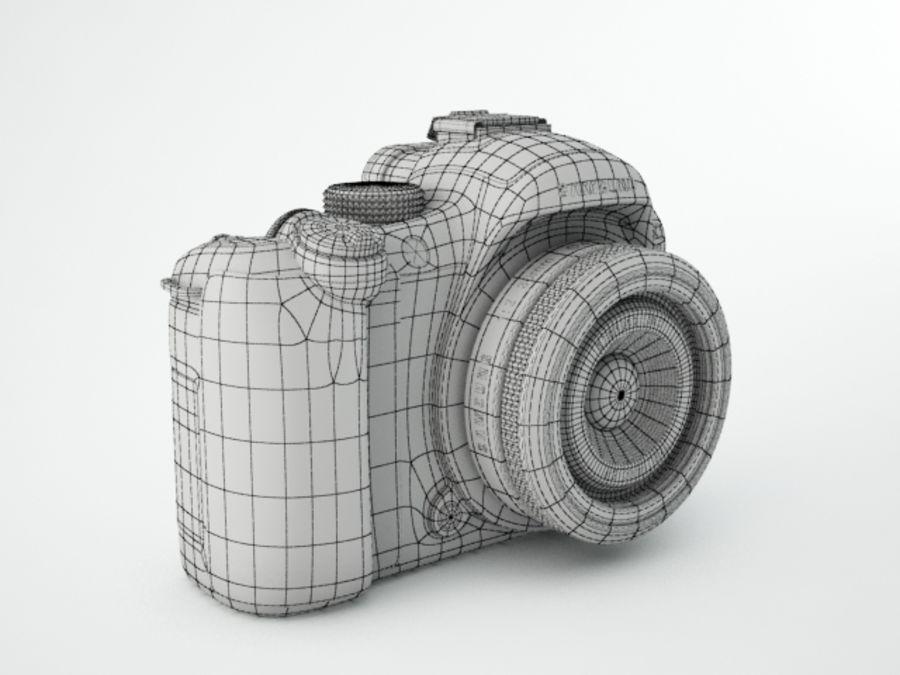 Samsung digital camera NX10 royalty-free 3d model - Preview no. 6