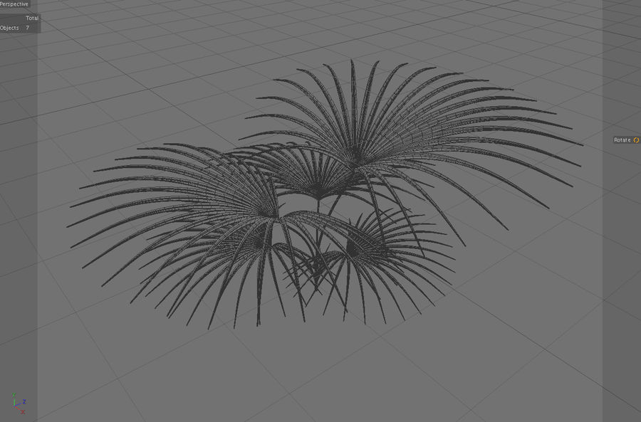 Tropical Plant royalty-free 3d model - Preview no. 4