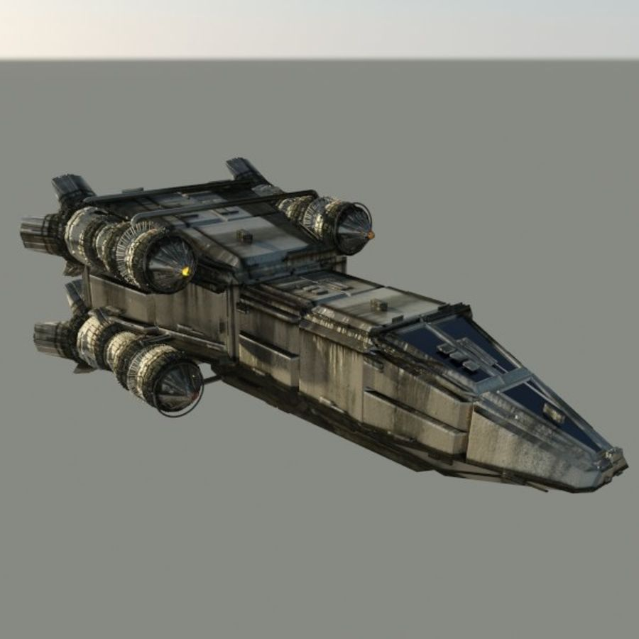 Shape Ship royalty-free 3d model - Preview no. 1