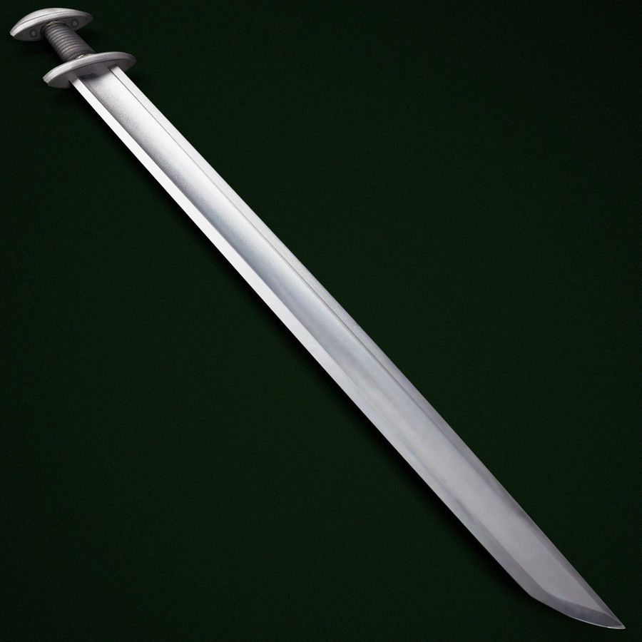 Viking Sword V7 royalty-free 3d model - Preview no. 3