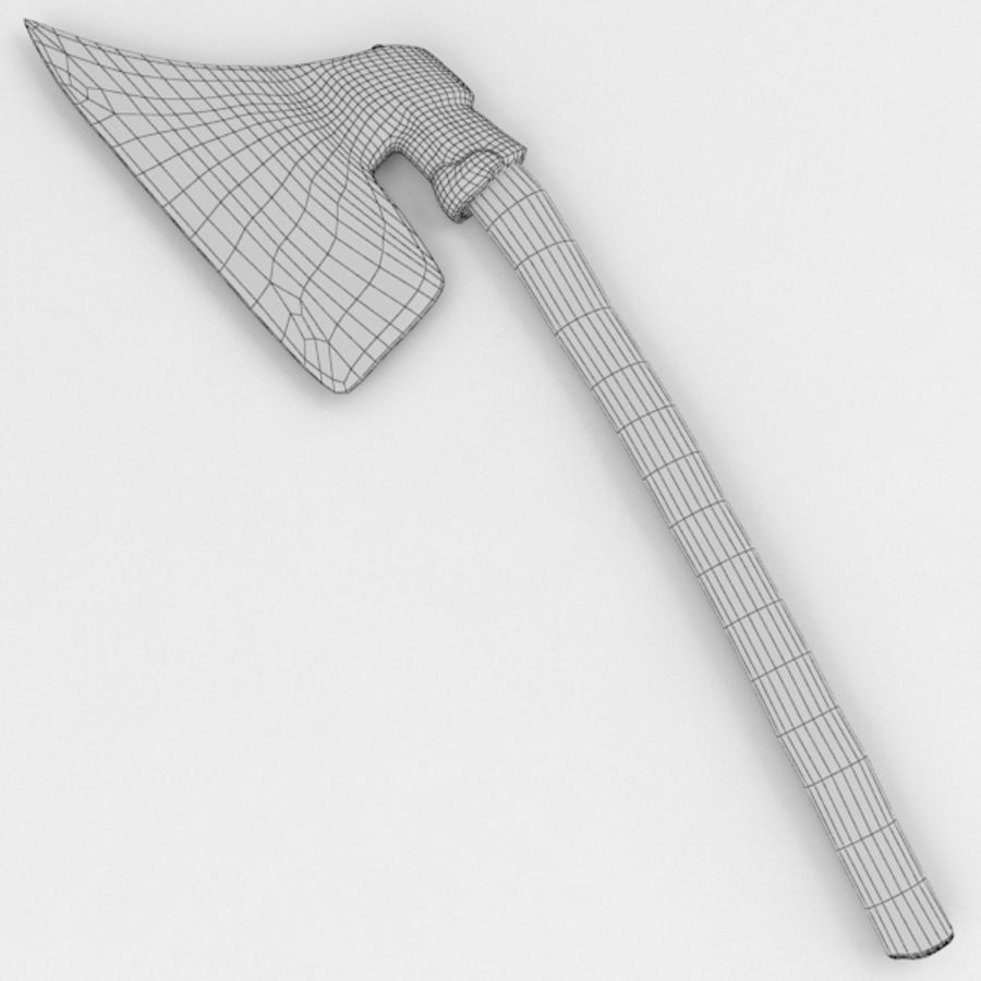 Primitive Axe royalty-free 3d model - Preview no. 2
