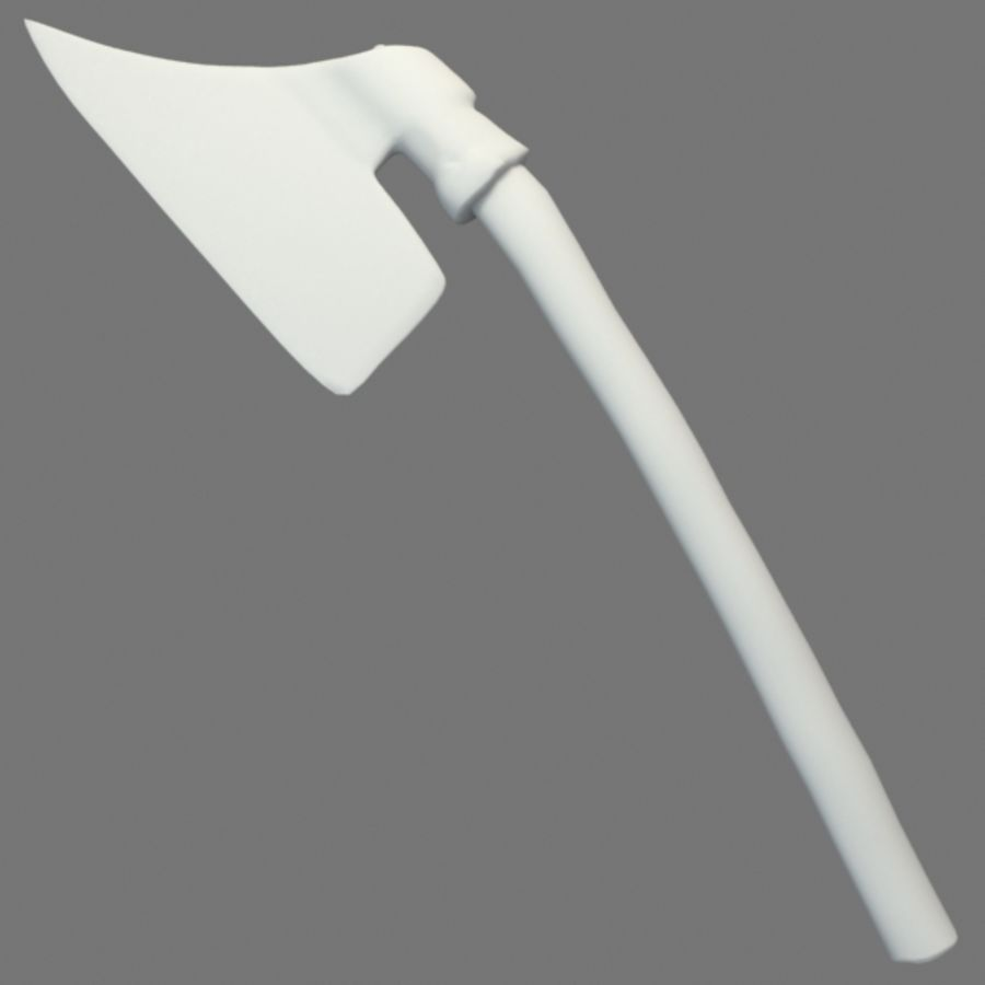 Primitive Axe royalty-free 3d model - Preview no. 4