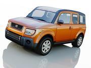 Honda Element Suv 3d model