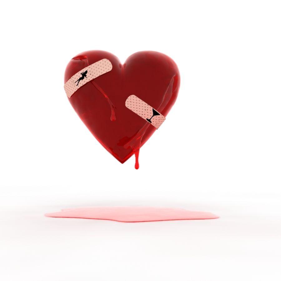Corazón Sangrando Modelo 3d 8 Unknown Lwo Free3d