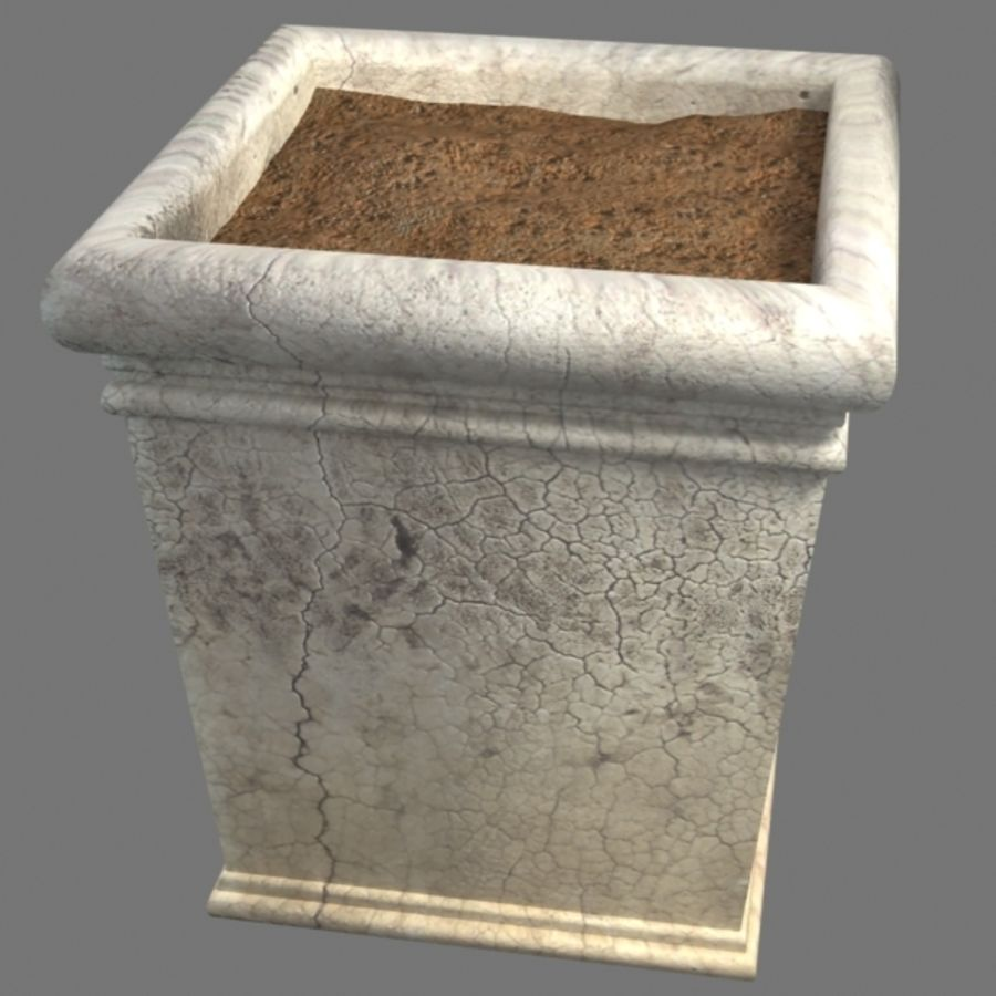 Deco Pot 11 royalty-free 3d model - Preview no. 5