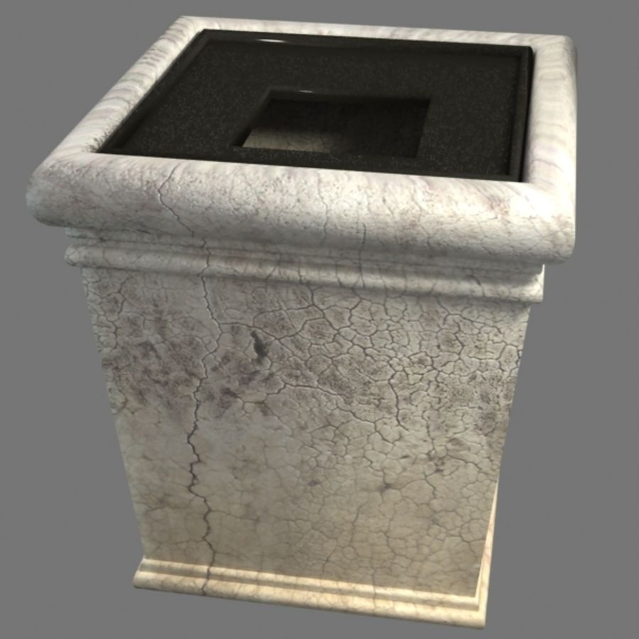 Deco Pot 11 royalty-free 3d model - Preview no. 6