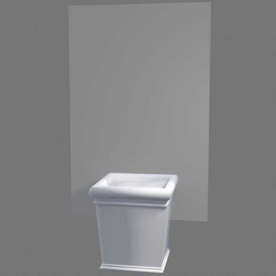 Deco Pot 11 royalty-free 3d model - Preview no. 3