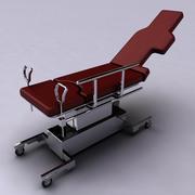 Łóżko szpitalne 3d model
