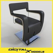 Salon Chair 01 3d model