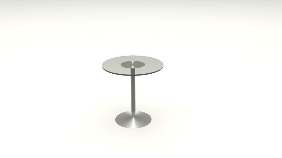 Okrągły stół royalty-free 3d model - Preview no. 2