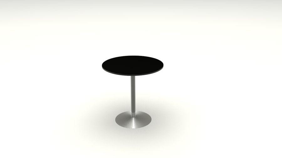 Okrągły stół royalty-free 3d model - Preview no. 3
