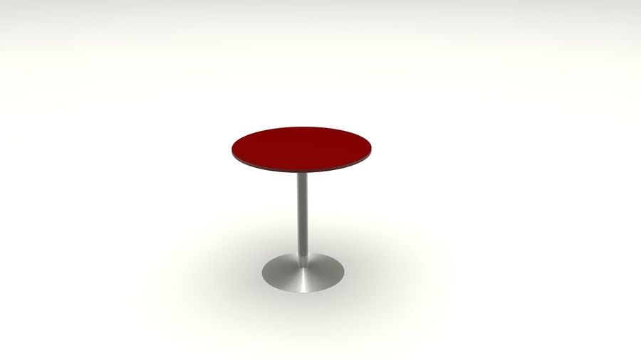 Okrągły stół royalty-free 3d model - Preview no. 4