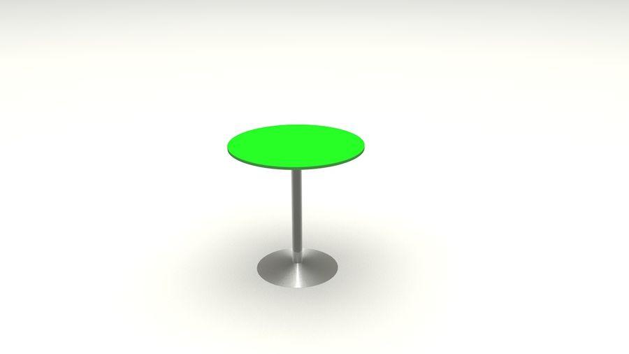 Okrągły stół royalty-free 3d model - Preview no. 5