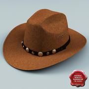 Chapéu de Cowboy V2 3d model