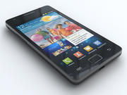 Samsung Galaxy S II i9100 3d model