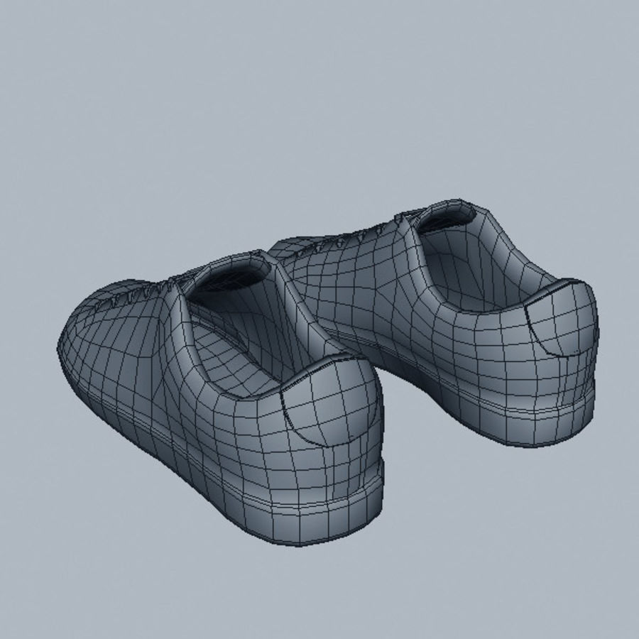 Sports_boots royalty-free 3d model - Preview no. 9