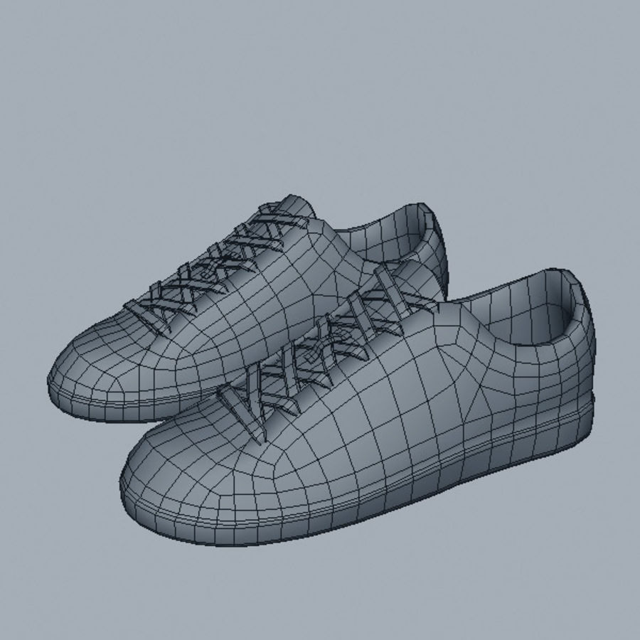 Sports_boots royalty-free 3d model - Preview no. 8
