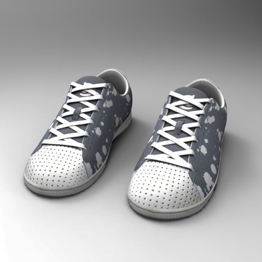 Sports_boots royalty-free 3d model - Preview no. 2