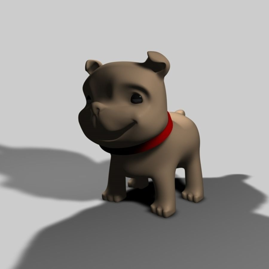 Puppy Dog royalty-free 3d model - Preview no. 1