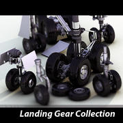 Landing Gear Collection 3d model