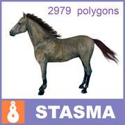 Cavalo andaluz 3d model