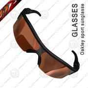 Sport Glasses Oakley 3d model