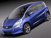 Honda Jazz - Fit 2011 3d model
