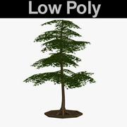 PL Low Poly Elm Tree 3 3d model