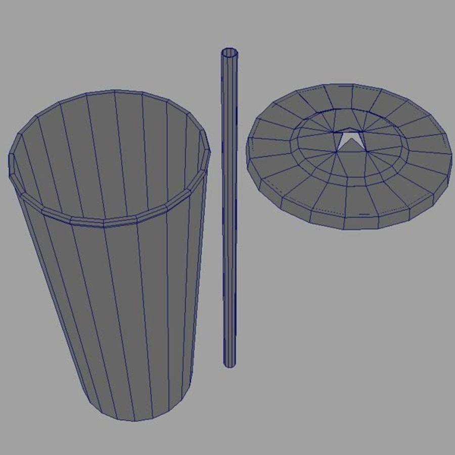 İçecek Bardağı royalty-free 3d model - Preview no. 2
