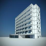 호텔 3d model