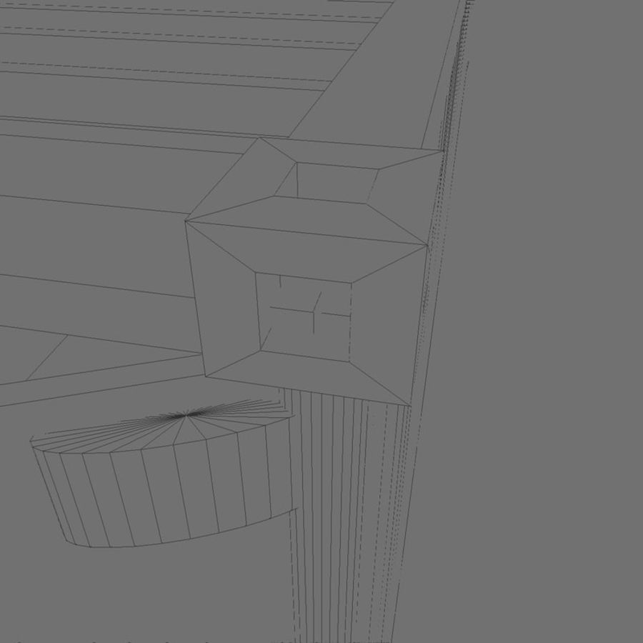 ISO-Container 40 feet royalty-free 3d model - Preview no. 6