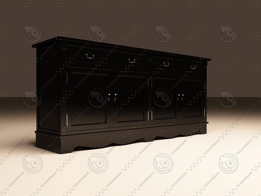 Eichholtz Cabinet Dresser royalty-free 3d model - Preview no. 2