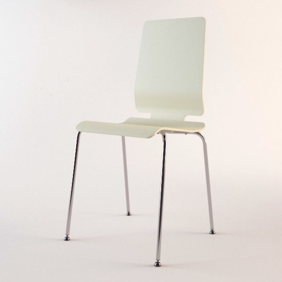 IKEA Gilbert Chair Royalty Free 3d Model   Preview No. 3