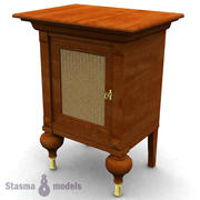 Night table 3d model