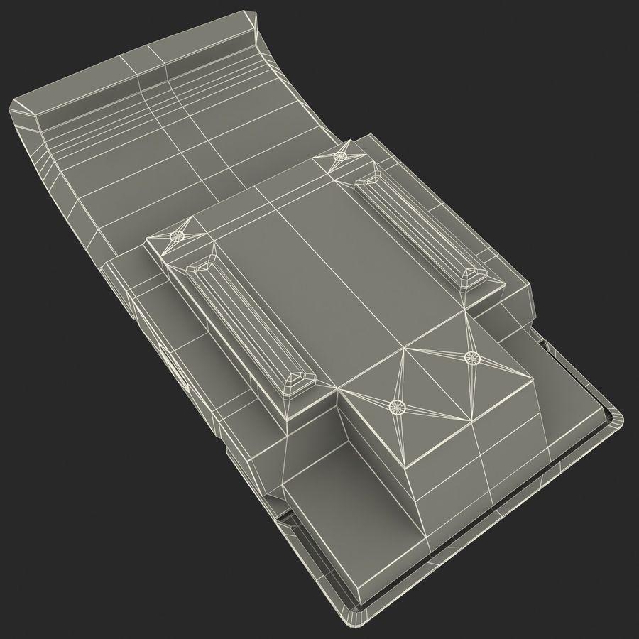 Klawiatura numeryczna royalty-free 3d model - Preview no. 13