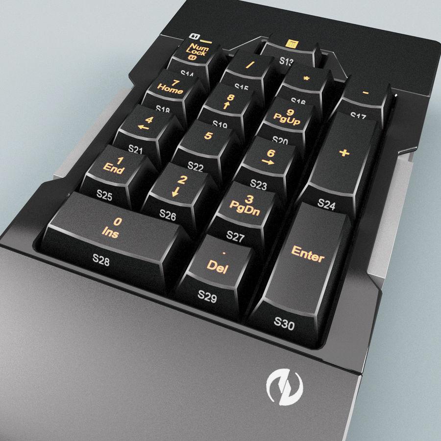 Klawiatura numeryczna royalty-free 3d model - Preview no. 5