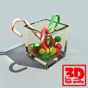 Candies 3d model