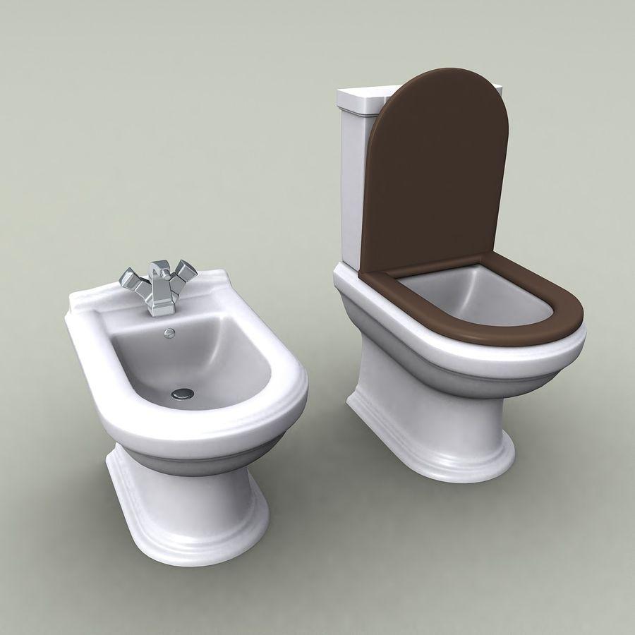 WC 2 modèle 3D $3 - .max .fbx .3ds .obj - Free3D