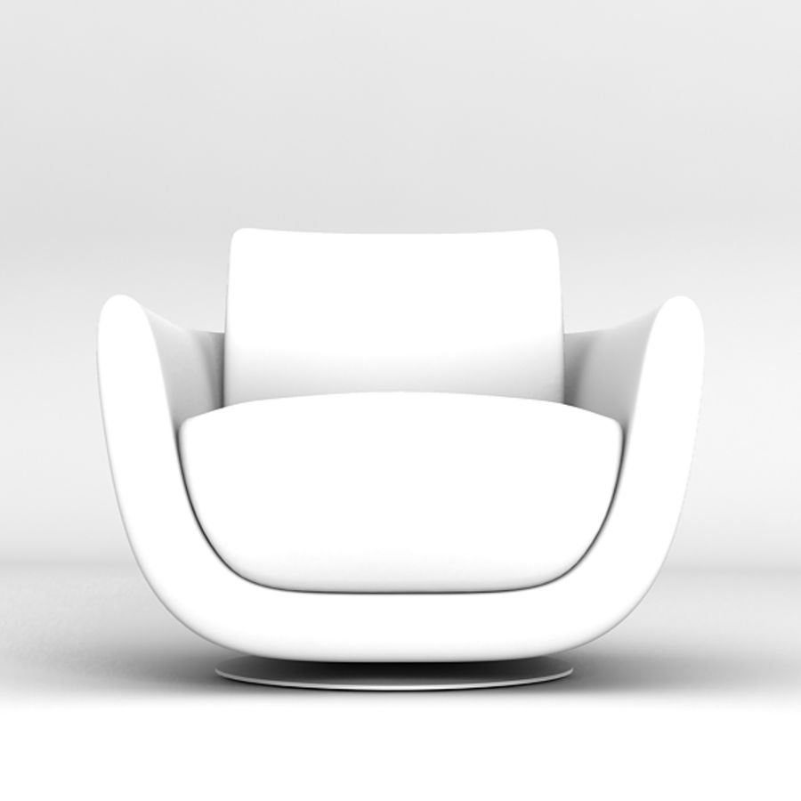 Nienkamper Carlisle Chair royalty-free 3d model - Preview no. 5