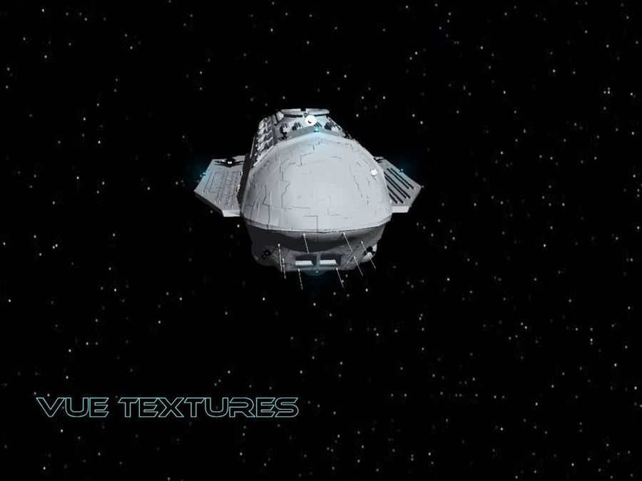 Alcestis Habitat Vessel royalty-free 3d model - Preview no. 5