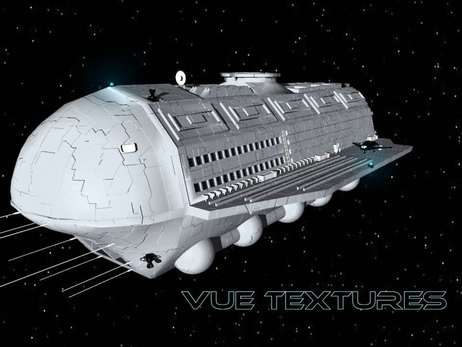 Alcestis Habitat Vessel royalty-free 3d model - Preview no. 1