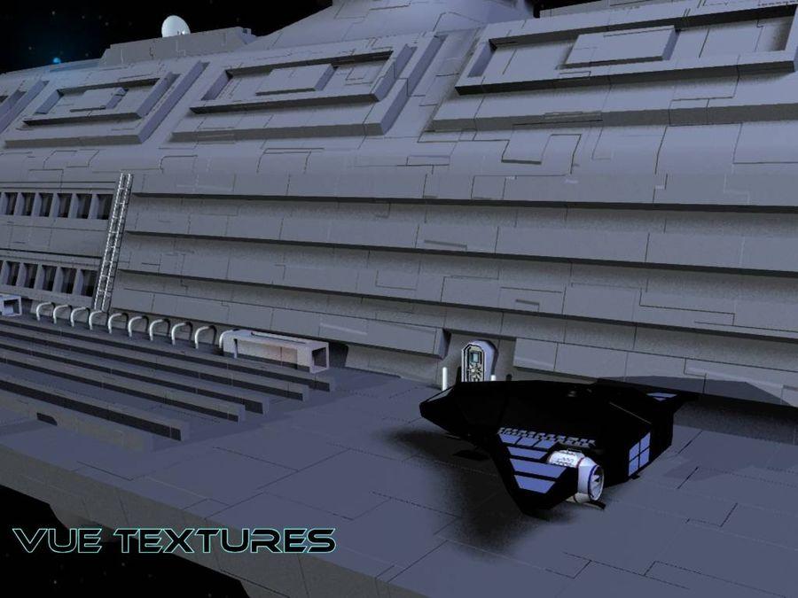 Alcestis Habitat Vessel royalty-free 3d model - Preview no. 3