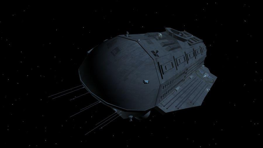 Alcestis Habitat Vessel royalty-free 3d model - Preview no. 12