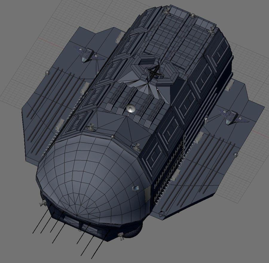 Alcestis Habitat Vessel royalty-free 3d model - Preview no. 17