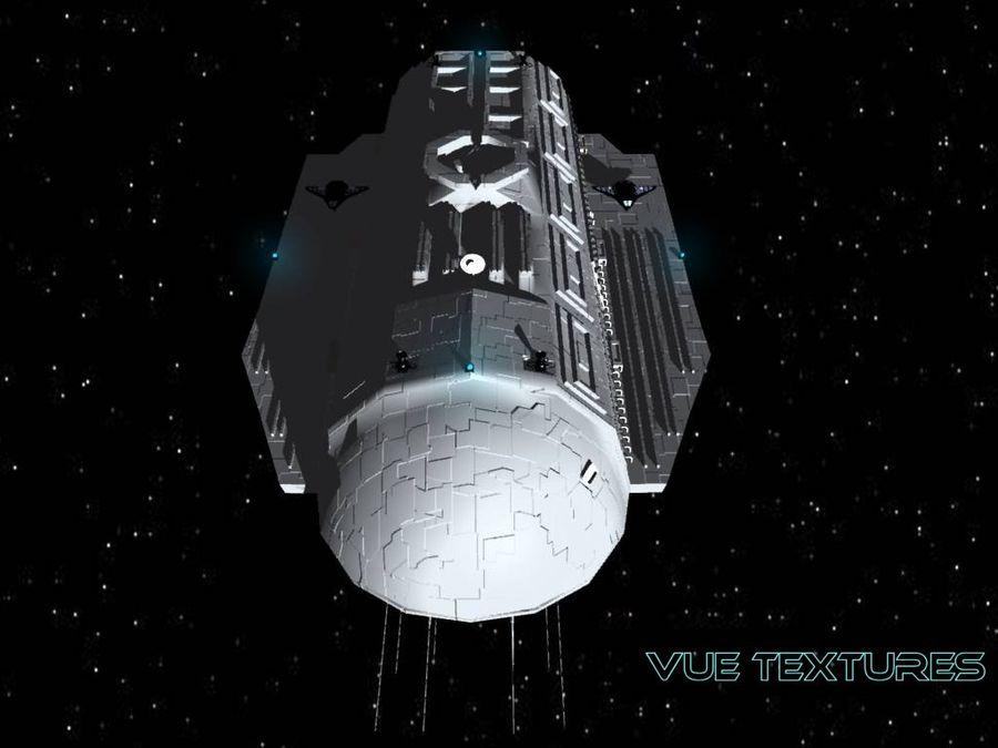 Alcestis Habitat Vessel royalty-free 3d model - Preview no. 2